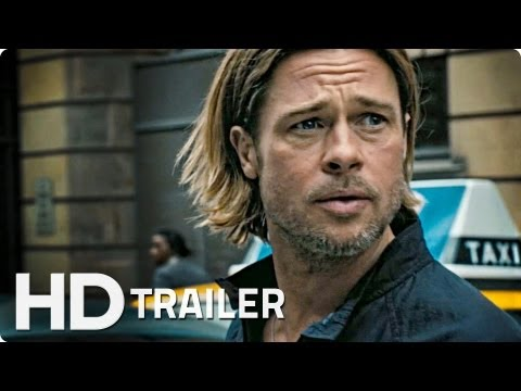 WORLD WAR Z Offizieller Trailer German Deutsch HD 2013 | Brad Pitt
