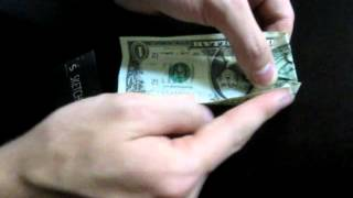 Simple Dollar Bill Origami Tutorial