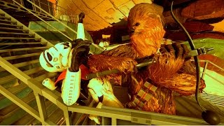 Star Wars Battlefront Hero Hunt: Chewie Rampage! (w/Friends!)
