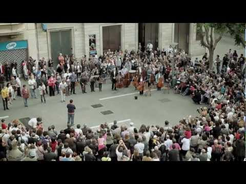 Som Sabadell flashmob