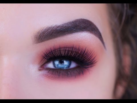 Chocolate Brown and Cranberry Fall Smokey Eye Tutorial   Lime Crime Venus