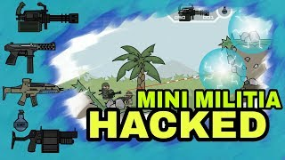Mini Militia v3.0.136: Doodle Army 2 Hacked with MMSuperPatcher [No Root] {Unlimited} 2017