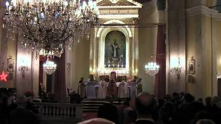 a short recording of a Catholic mass in Armenian