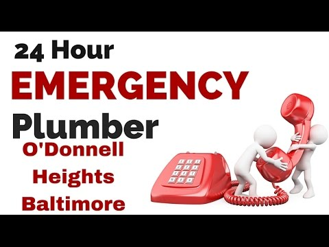 24 Hour Emergency Plumber O'Donnell Heights Baltimore Maryland MD (844) 231-3435