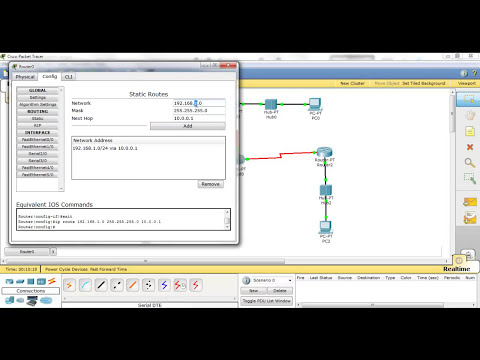 Cisco packet tracer 5.3.2 - Practica 1 Frame-Relay