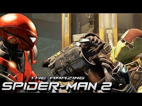 The Amazing Spider-Man 2 Gameplay German - Der Shocker Boss Fight