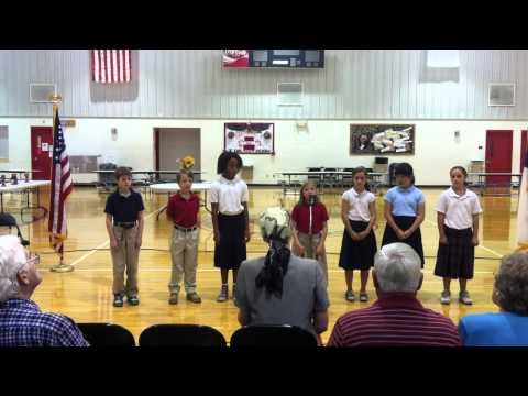 Anchored Christian School Grades 4-6 Grandparent's Day Presentation