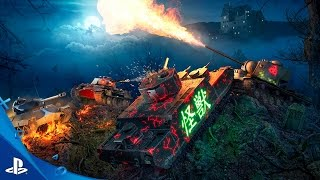 World of Tanks - Behind The Scenes of Halloween Video   PS4
