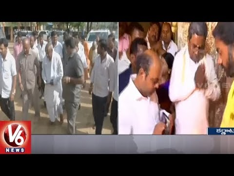 Karnataka Poll Suspense Extends To Results Day As Exit Polls Show Hung | V6 News