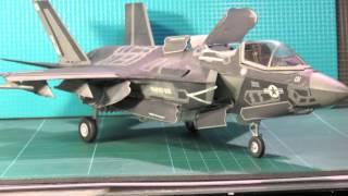 Kitty Hawk F-35B Lightning 1:48