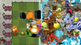 Plants vs Zombies 2 - All Plants vs All Zomboss MADNESS!