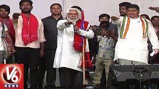 Gaddar Participates In Ponnam Prabhakar Election Campaign At Karimnagar | TS Polls