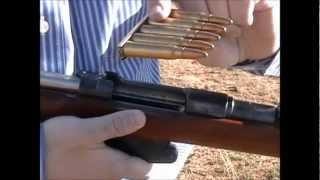 A Demonstration of the 1891 Argentine Mauser (7.65mm Argentine)