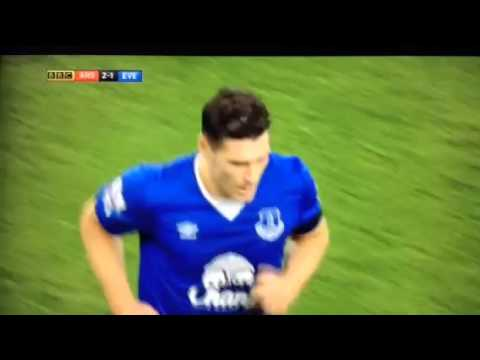 GARETH BARRY RED CARD AGAINST ARSENAL!!!