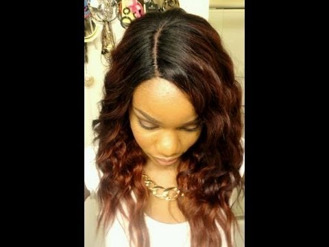 Freetress Milly Deep Invisible Part Lace Front Wig From