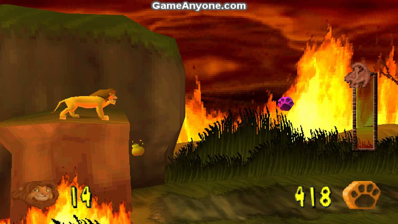 the lion king  simba u0026 39 s mighty adventure  ps1