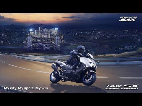 2018 Yamaha TMAX SX Sport Edition - My City. My Sport. My Win.