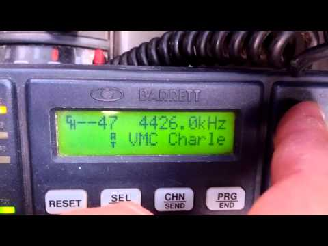 Barrett 550 HF radio