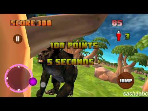 gorilla simulator 3D обзор игры андроид game rewiew android