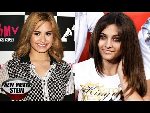 DEMI LOVATO Tweets PARIS JACKSON: STAY STRONG vs BULLIES