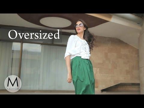 Стиль Oversized: как носить объемные вещи