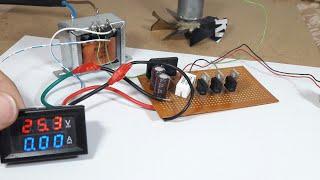 Basit 30V 4 Amper Güç Kaynağı Yapımı