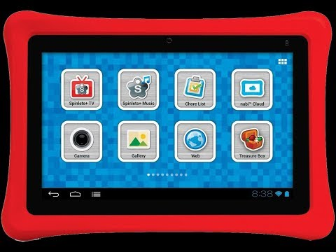 NABI 2 Kids Tablet Unboxing and Review 2014