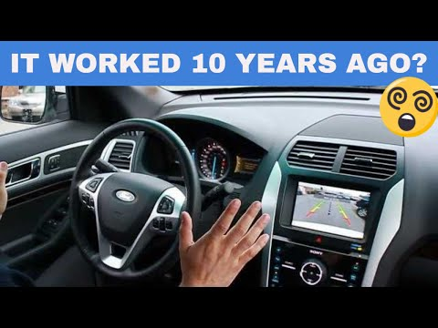 Ford Auto-park demonstration