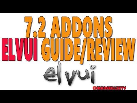 7.2 WOW ADDONS: ElvUI