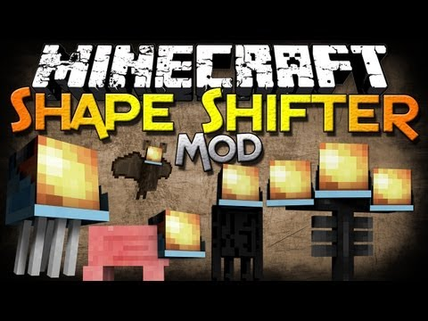 Minecraft Mods | SHAPE-SHIFTER Z MOD - Mobs with Abilities! - Mod Showcase