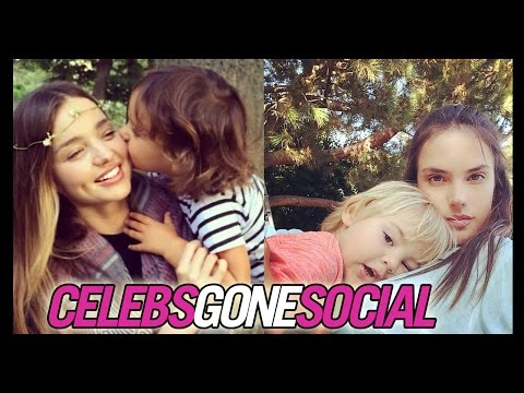 Supermodels Share Shots with their Kids -- Celebs Gone Social for Sep. 19, 2014