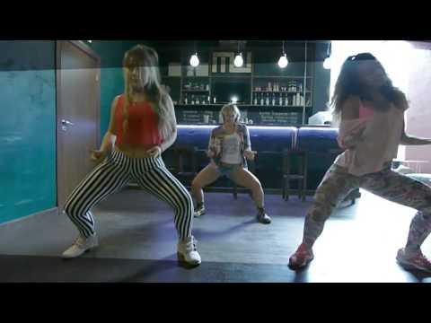 Charly Black - Gyal you a party animal   Dancehall Choreo by katerina Troitskaya