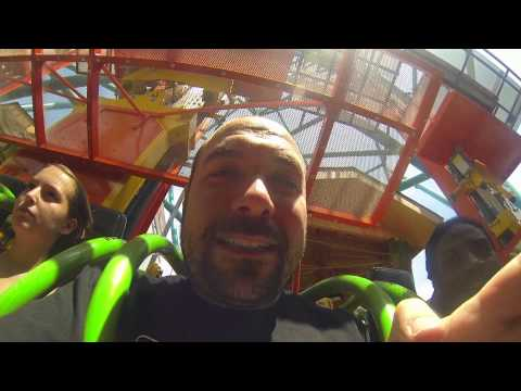 Rosenberg takes on Six Flags Zumanjaro Drop of Doom