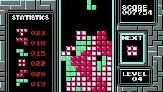 TETRIS Nintendo - A Type - Levels 0 to 12