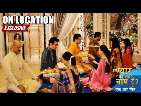 Iss Pyaar Ko Kya Naam Doon.. Ek Baar Phir - Behind the Scenes...