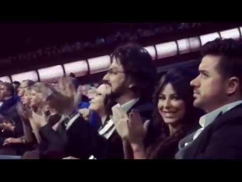 Ани Лорак у Николая Баскова на концерте 08 10 2016