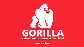 Gorilla.sc - Tutorial 1: Change Blindness