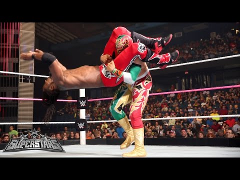 Kofi Kingston Vs. Sin Cara: Wwe Superstars, October 2, 2014 video