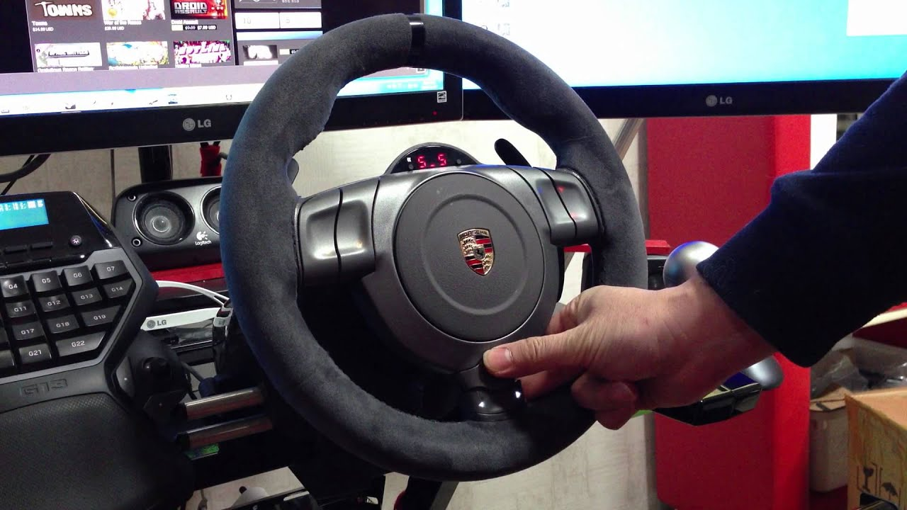 Fanatec Gt2 Wheel Fanatec Porsche 911 Gt2 Wheel