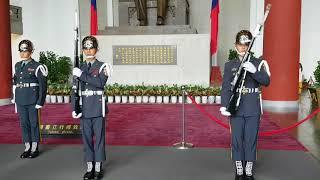 Change of Guards in the Sun Yat Sen Memorial Hall