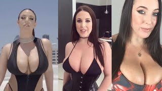 10 Min Compilation of Hot Angela White Big Boobs Bouncing