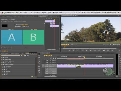 Adobe Premiere Pro - #7: Efectos de transición