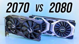 Nvidia RTX 2070 vs 2080 - Benchmarks & Comparisons