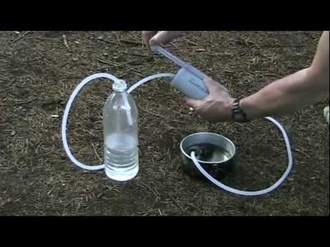 Only The Lightest. Ch 49: Ultralight Backpacking. How to Use a Water Filter