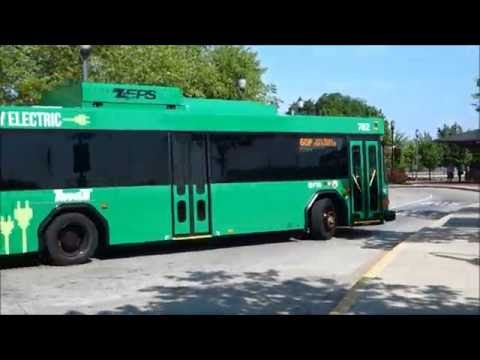"ZEPS ELECTRIC BUSES ""IN SERVICE"" @ FREDERICK, MD"
