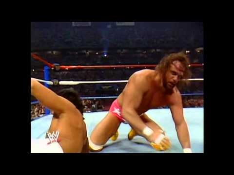 Ricky Steamboat vs Randy Savage Wrestlemania 3