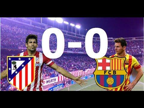 Atletico de Madrid 0-0 Barcelona  | RESUMEN |11/01/2014 |Jornada 19 liga BBVA|
