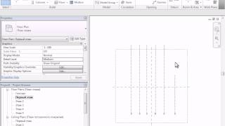 Видеокурс Revit - Part 3 - Grid (Оси)