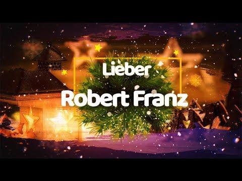 Danke lieber Robert Franz!
