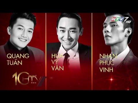 HTV Awards 2016 | Lễ trao giải thưởng truyền hình lần thứ 10 (23/04/2016)